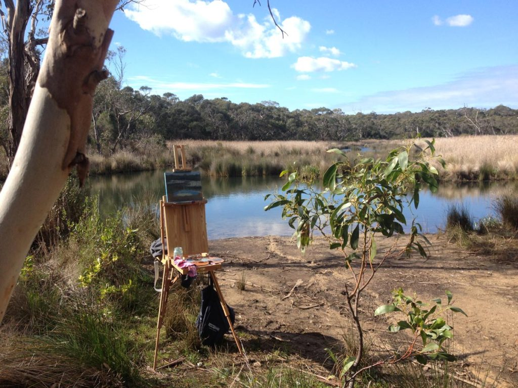 Anglesea river painting