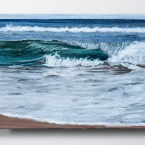 Anglesea River Mouth Seascape painting