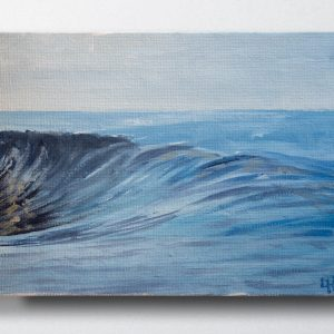Samoan Heat , original seascape oil painting